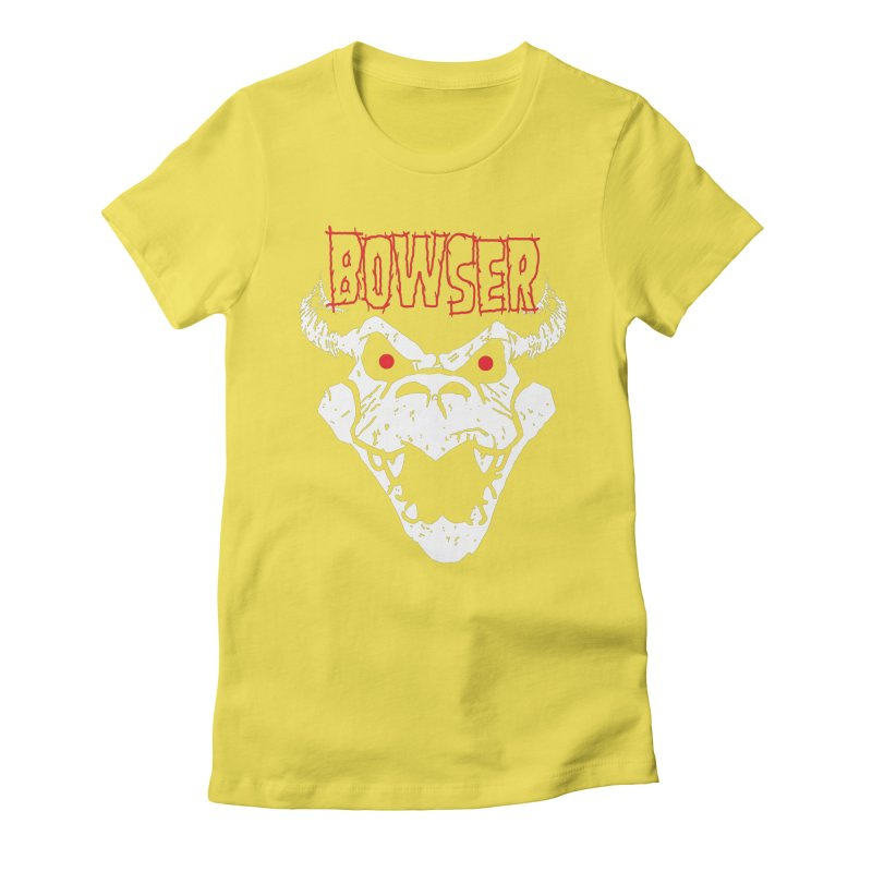 Bowzig Women's Fitted T-Shirt by Daletheskater