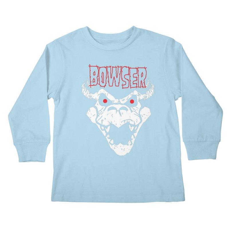 Bowzig Kids Longsleeve T-Shirt by Daletheskater
