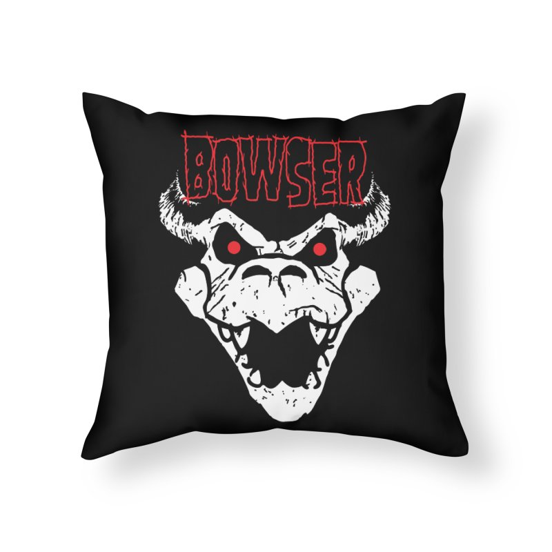 Bowzig Home Throw Pillow by Daletheskater