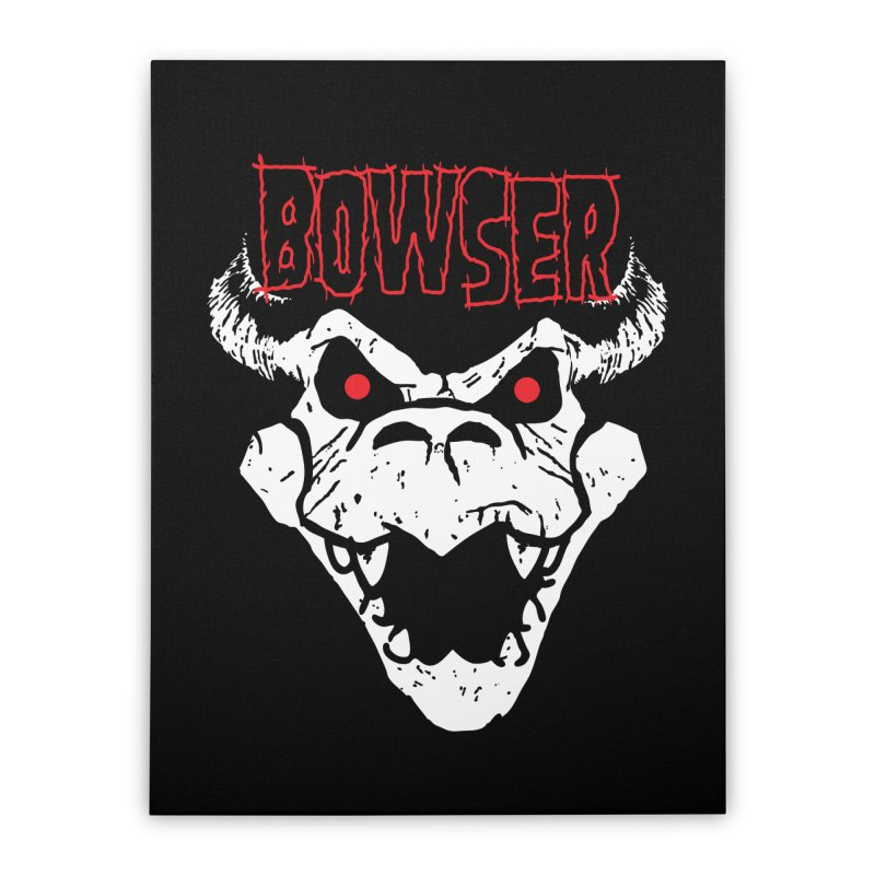 Bowzig Home Stretched Canvas by Daletheskater