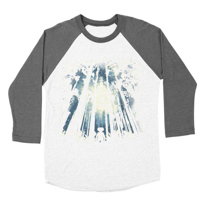 Phone Home Women's Baseball Triblend T-Shirt by Daletheskater