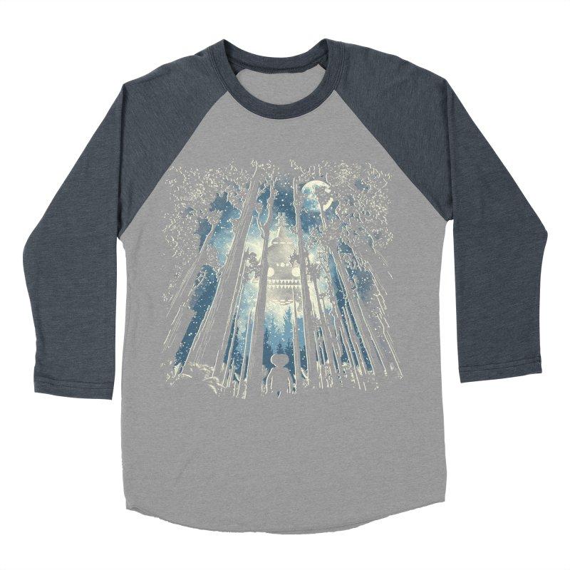 Phone Home Men's Baseball Triblend T-Shirt by Daletheskater