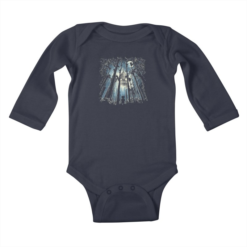 Phone Home Kids Baby Longsleeve Bodysuit by Daletheskater
