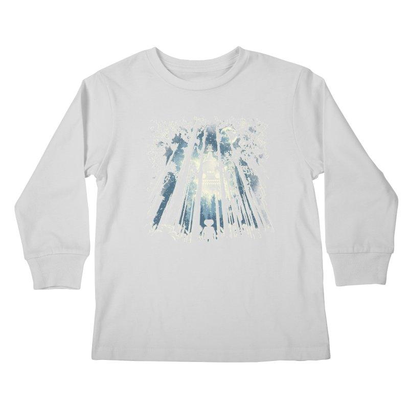 Phone Home Kids Longsleeve T-Shirt by Daletheskater