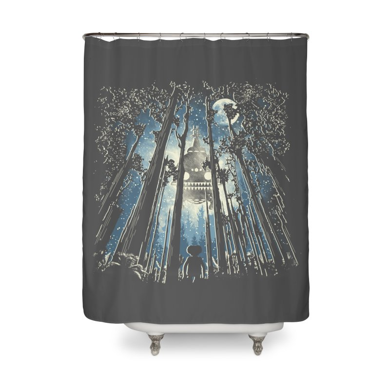 Phone Home Home Shower Curtain by Daletheskater