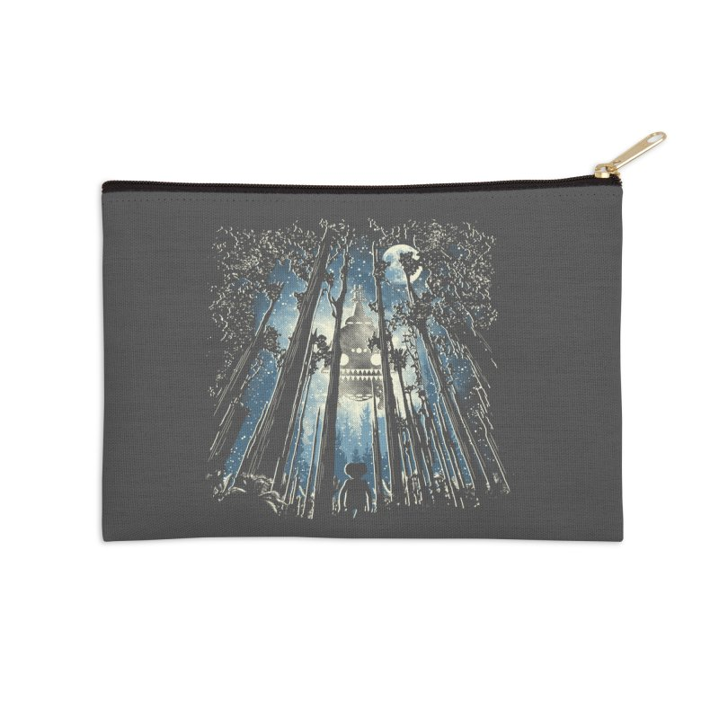 Phone Home Accessories Zip Pouch by Daletheskater