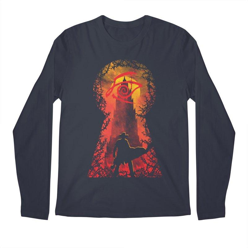 Mid-World Men's Longsleeve T-Shirt by Daletheskater