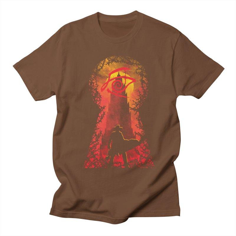 Mid-World Men's T-shirt by Daletheskater