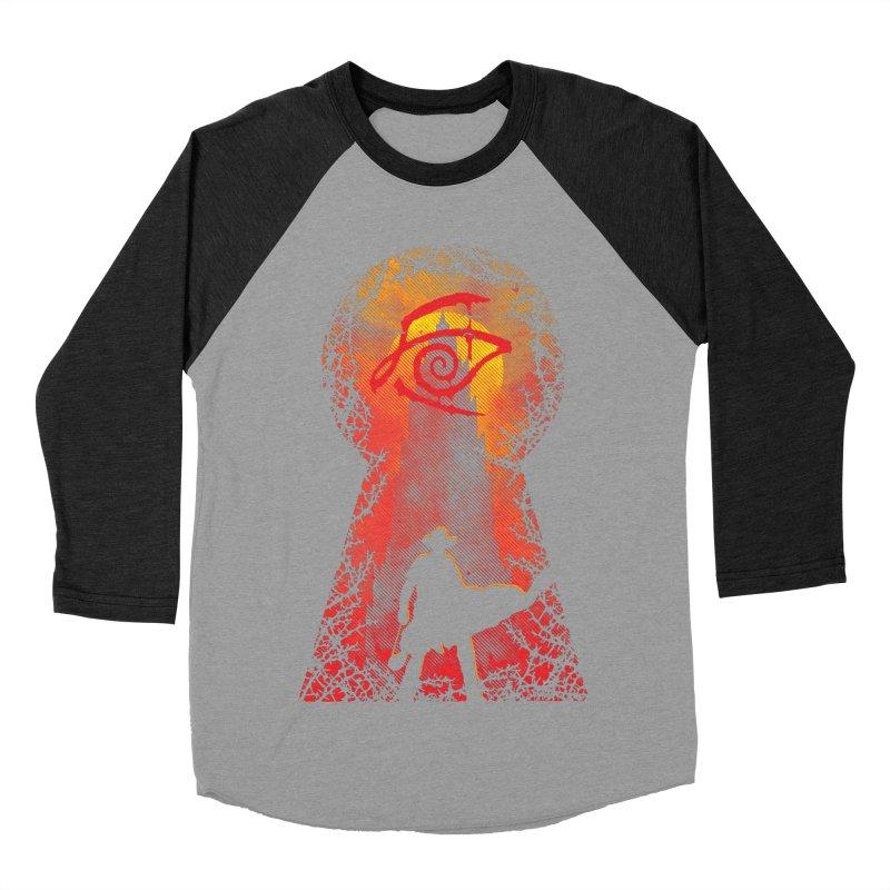 Mid-World Women's Baseball Triblend T-Shirt by Daletheskater