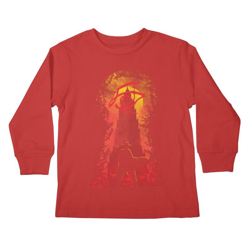 Mid-World Kids Longsleeve T-Shirt by Daletheskater