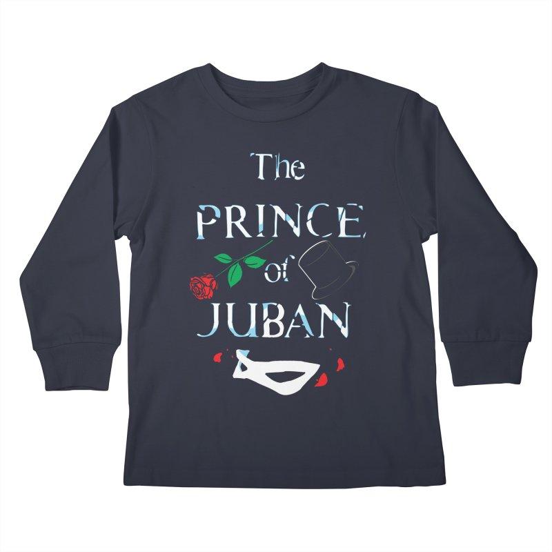 The Prince Of Juban Kids Longsleeve T-Shirt by Daletheskater