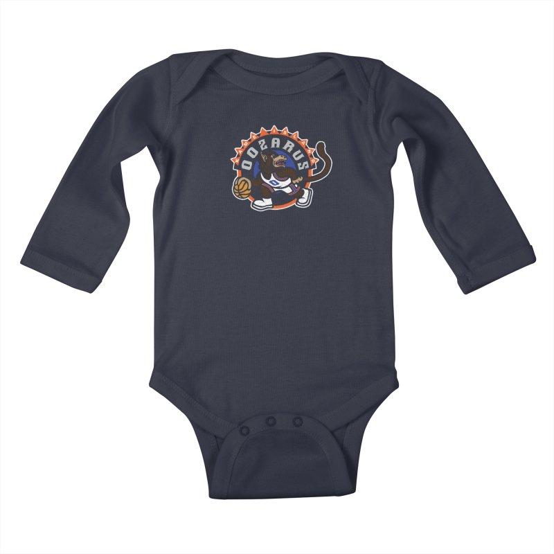 Kame Island Oozarus Kids Baby Longsleeve Bodysuit by Daletheskater