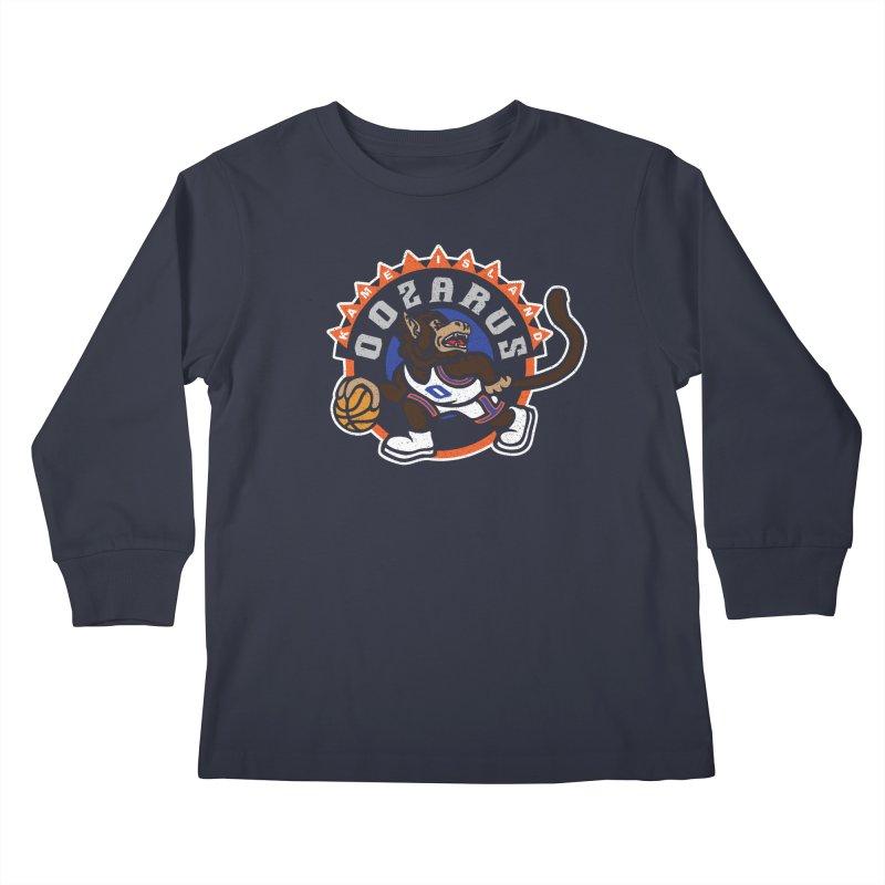 Kame Island Oozarus Kids Longsleeve T-Shirt by Daletheskater