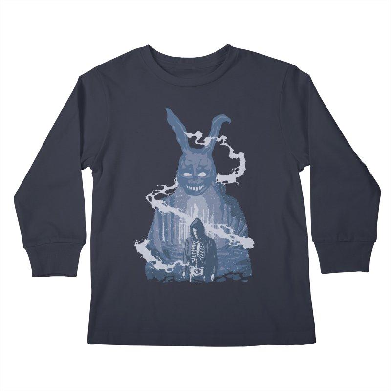 Awake Hallucination Kids Longsleeve T-Shirt by Daletheskater