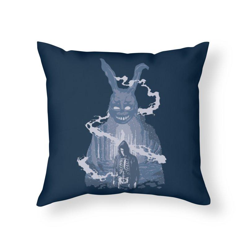 Awake Hallucination Home Throw Pillow by Daletheskater