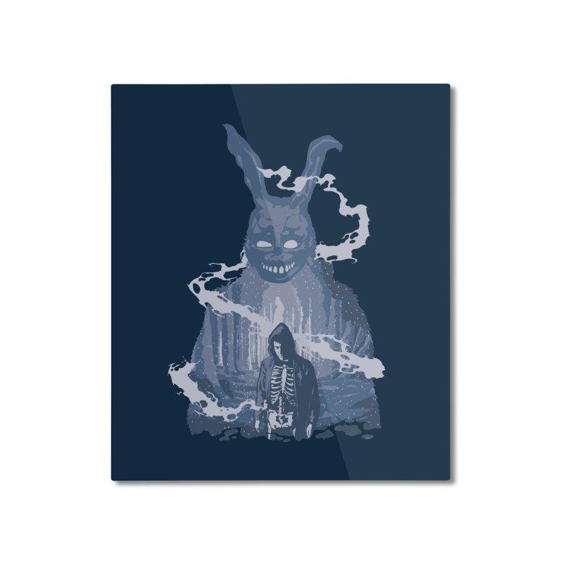 Awake Hallucination Home Mounted Aluminum Print by Daletheskater