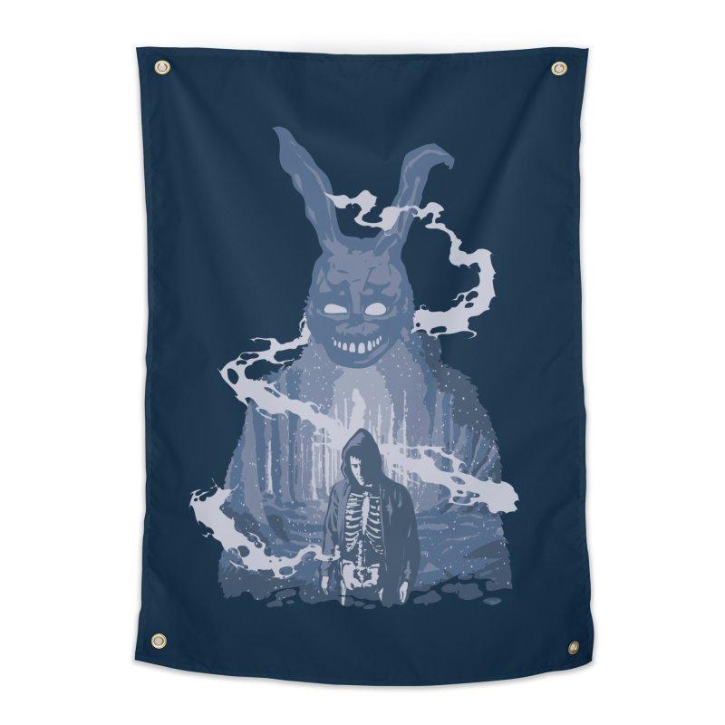 Awake Hallucination Home Tapestry by Daletheskater