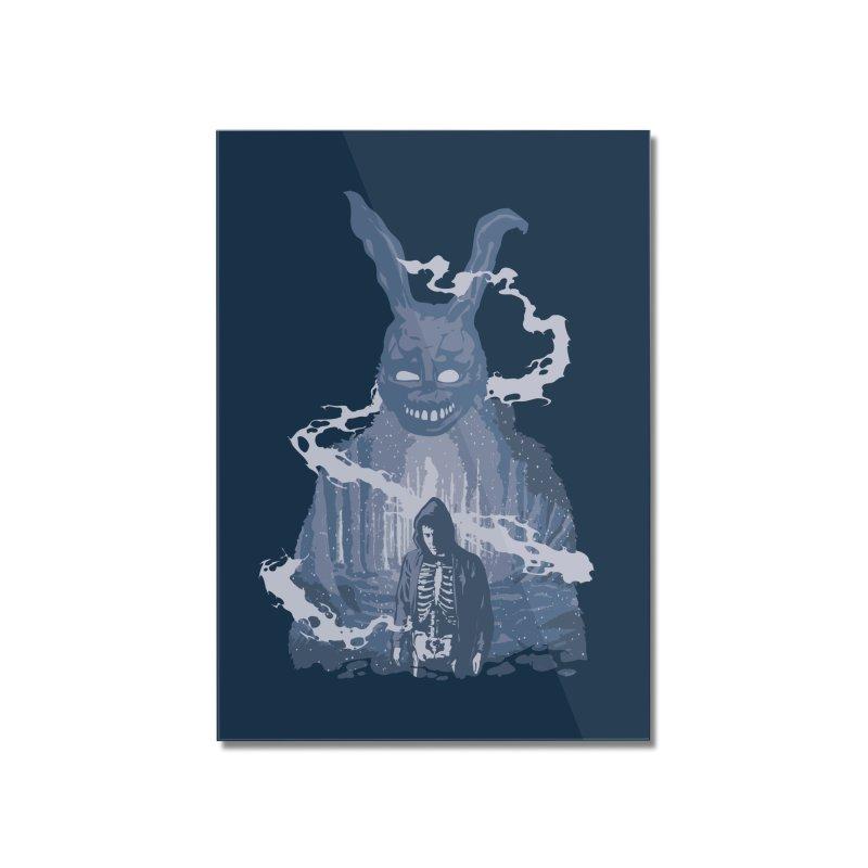 Awake Hallucination Home Mounted Acrylic Print by Daletheskater