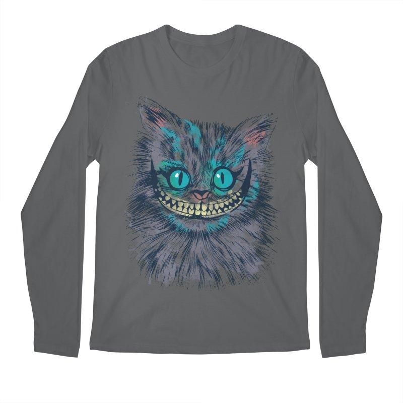 Vibrant Cheshire Men's Longsleeve T-Shirt by Daletheskater