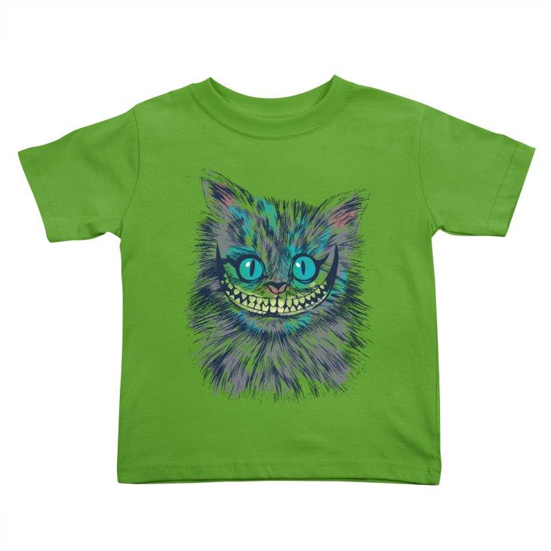 Vibrant Cheshire Kids Toddler T-Shirt by Daletheskater