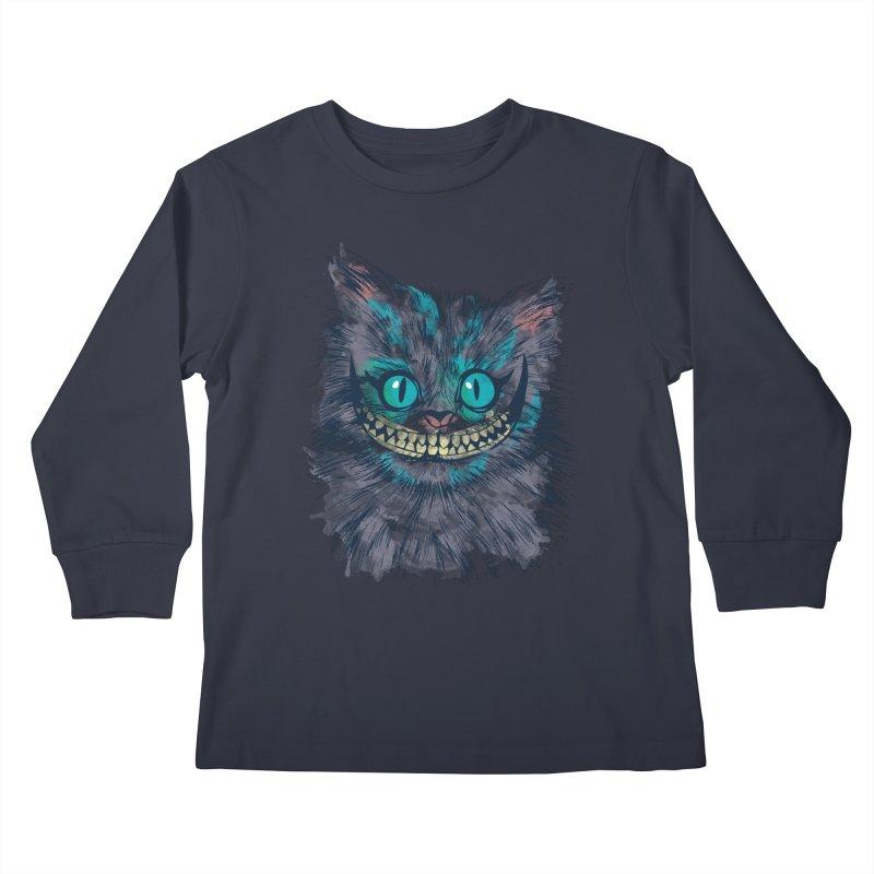 Vibrant Cheshire Kids Longsleeve T-Shirt by Daletheskater