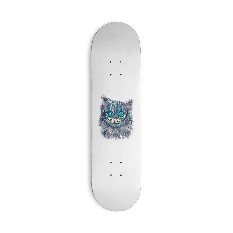 Vibrant Cheshire Accessories Skateboard by Daletheskater