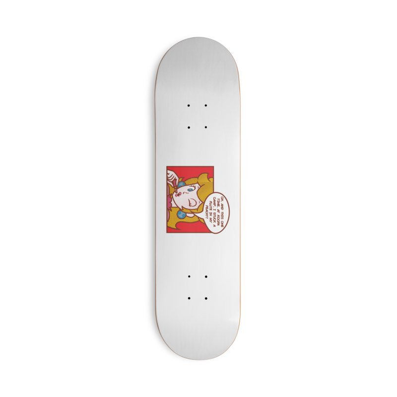 Koopa Camp Accessories Skateboard by Daletheskater