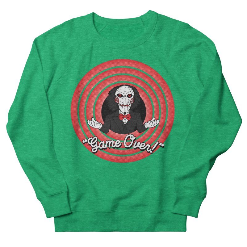 Game Over! Women's Sweatshirt by Daletheskater