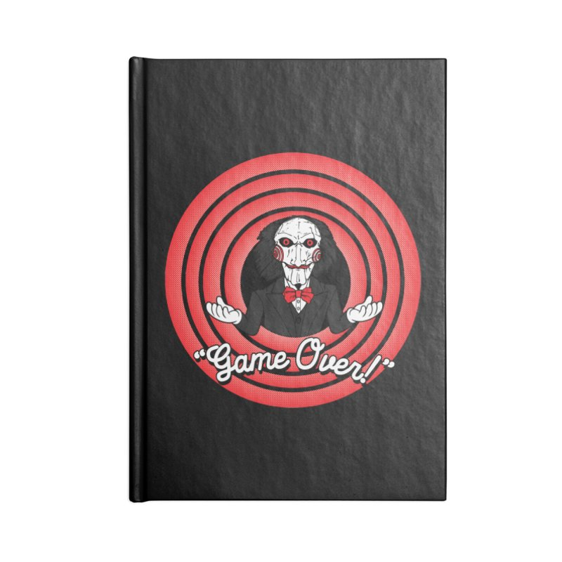 Game Over! Accessories Notebook by Daletheskater