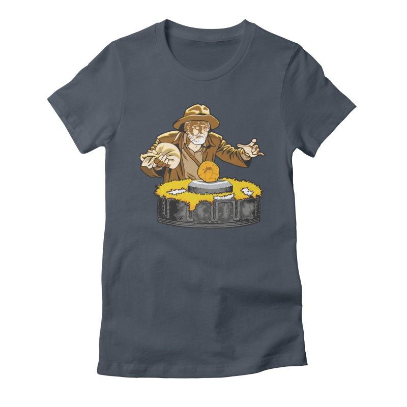 Jurassic Doctor Women's T-Shirt by Daletheskater