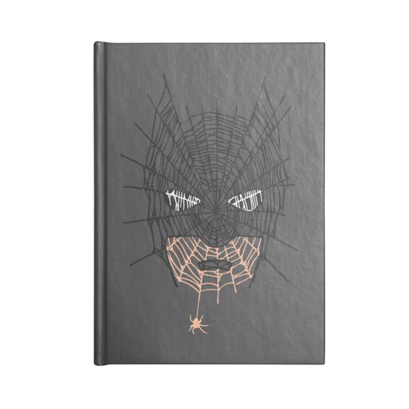 Bat Web Accessories Notebook by Daletheskater