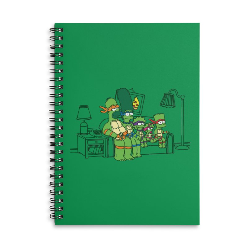The Turtles Accessories Notebook by Daletheskater