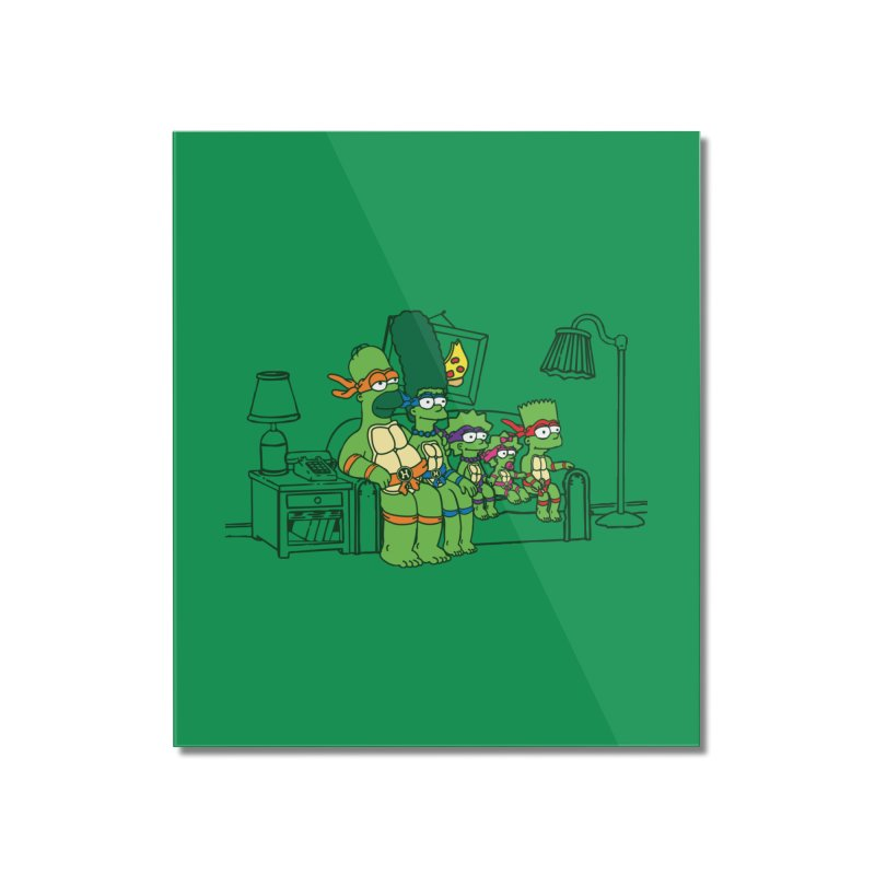 The Turtles Home Mounted Acrylic Print by Daletheskater