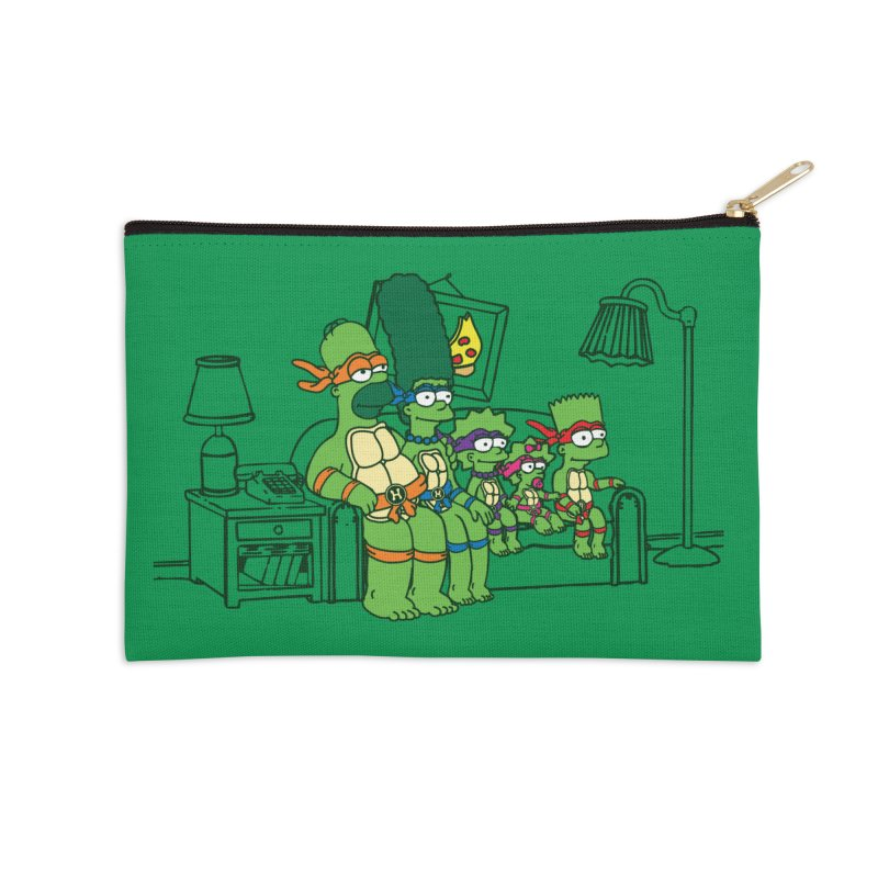 The Turtles Accessories Zip Pouch by Daletheskater