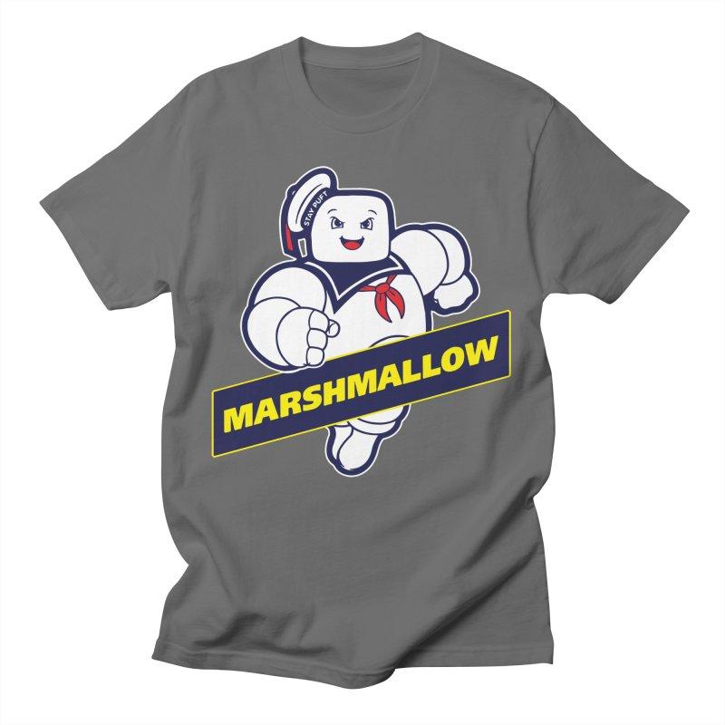 Marshmallow Men's T-Shirt by Daletheskater