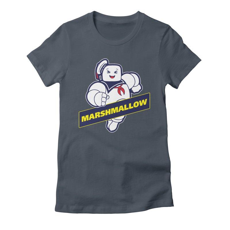 Marshmallow Women's T-Shirt by Daletheskater