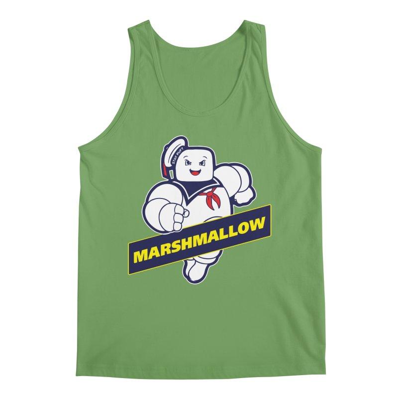 Marshmallow Men's Tank by Daletheskater