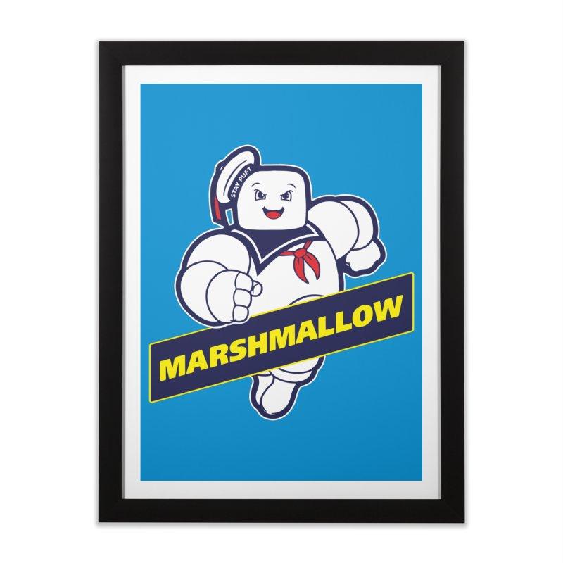 Marshmallow Home Framed Fine Art Print by Daletheskater