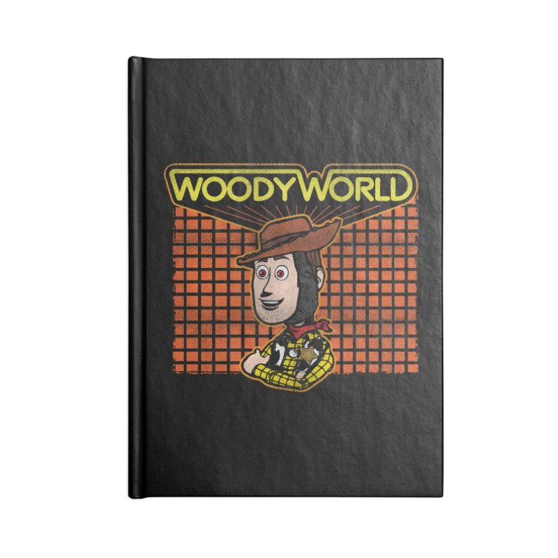 Woodyworld Accessories Notebook by Daletheskater