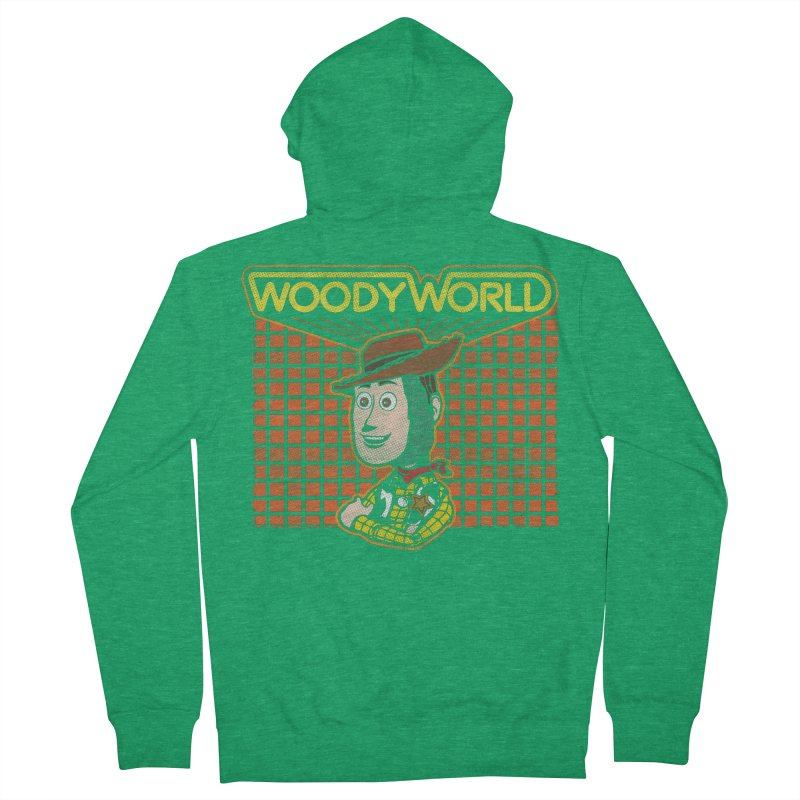 Woodyworld Men's Zip-Up Hoody by Daletheskater
