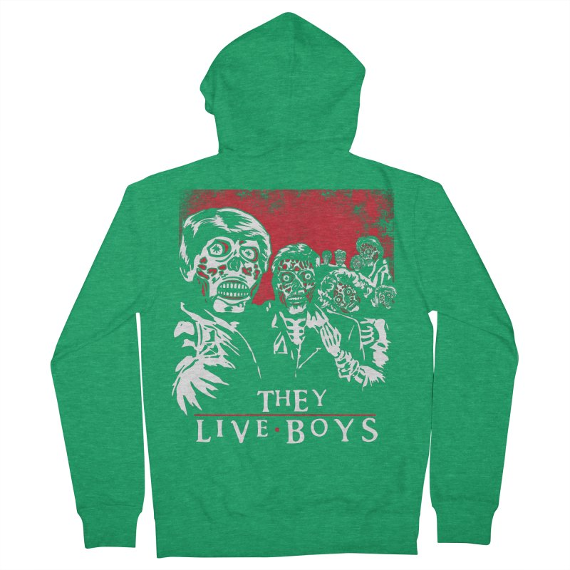 They Live Boys Men's Zip-Up Hoody by Daletheskater