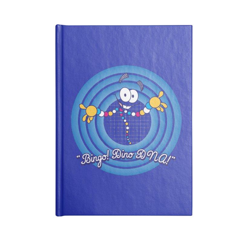 Bingo! Dino DNA! Accessories Notebook by Daletheskater