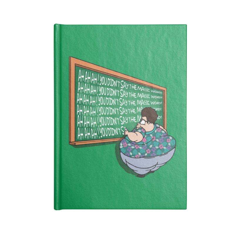 Ah Ah Ah! Accessories Notebook by Daletheskater