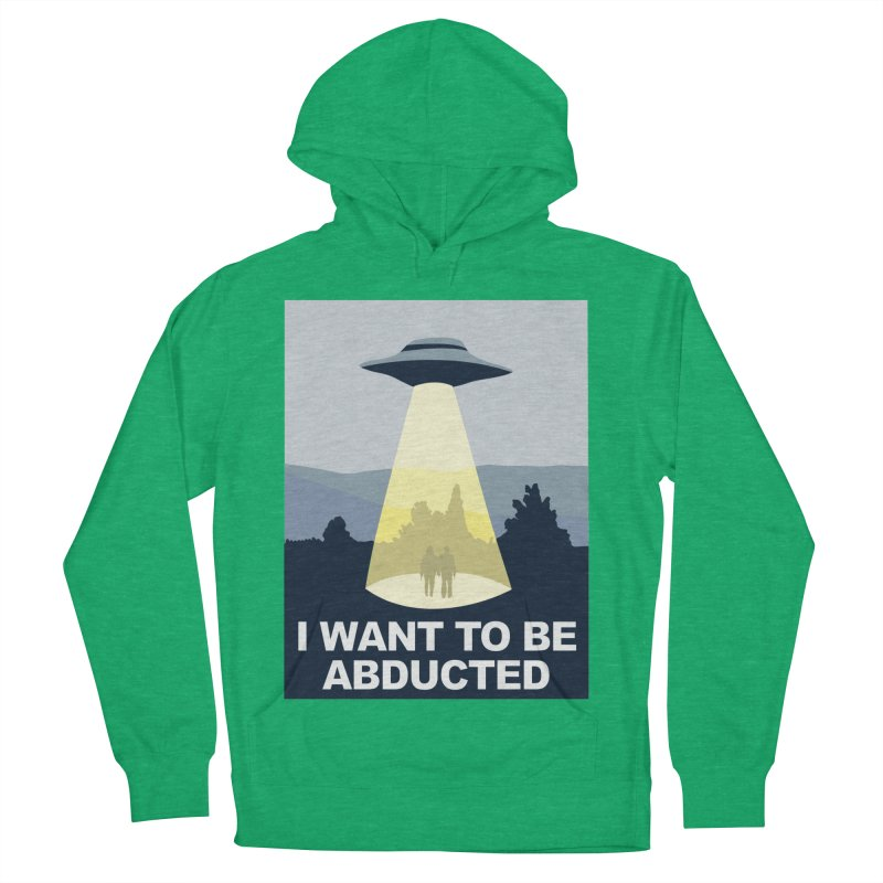 Abducted Women's Pullover Hoody by Daletheskater