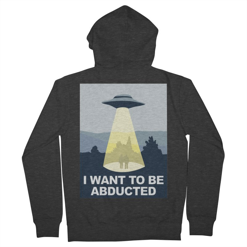 Abducted Men's Zip-Up Hoody by Daletheskater