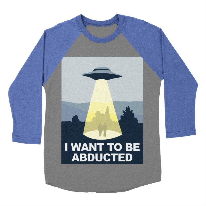 Abducted Women's Baseball Triblend T-Shirt by Daletheskater