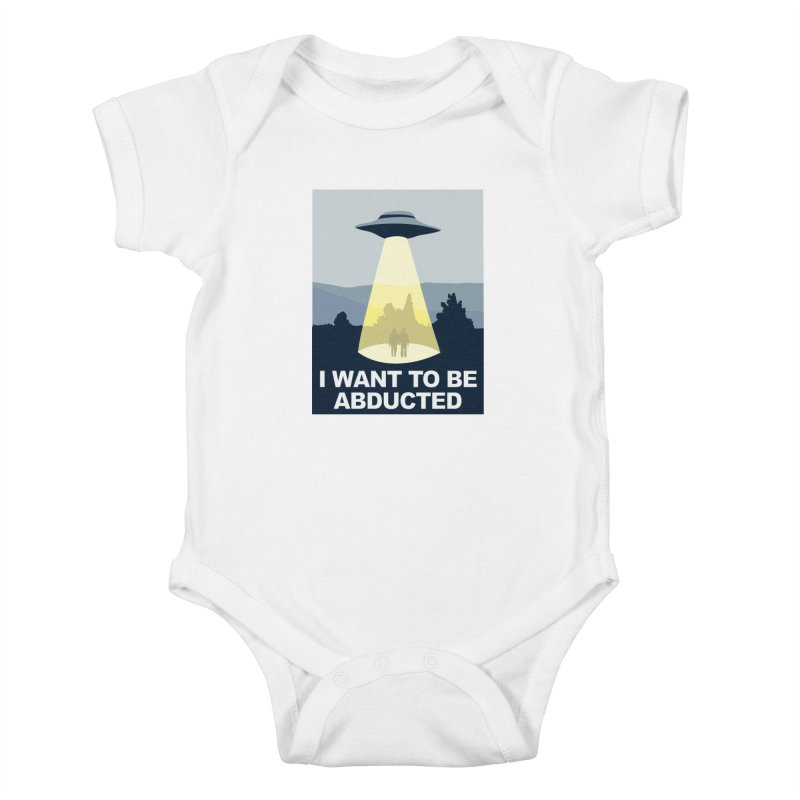 Abducted Kids Baby Bodysuit by Daletheskater