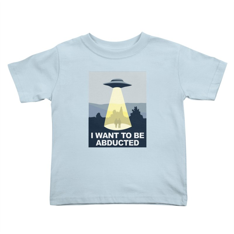 Abducted Kids Toddler T-Shirt by Daletheskater
