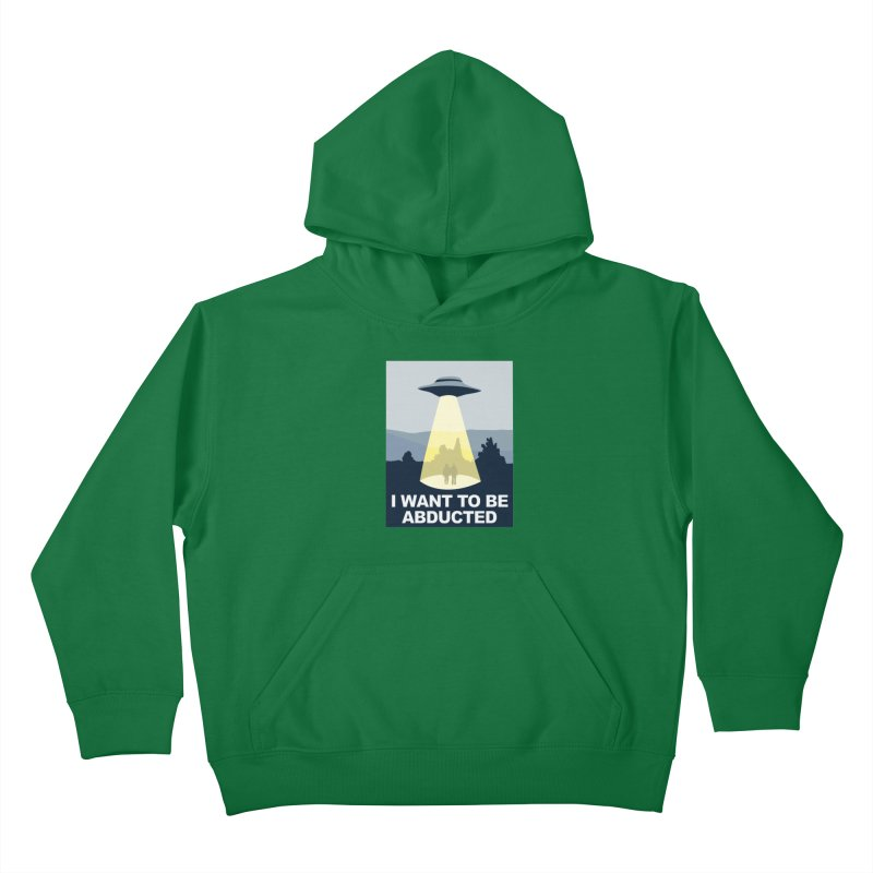 Abducted Kids Pullover Hoody by Daletheskater