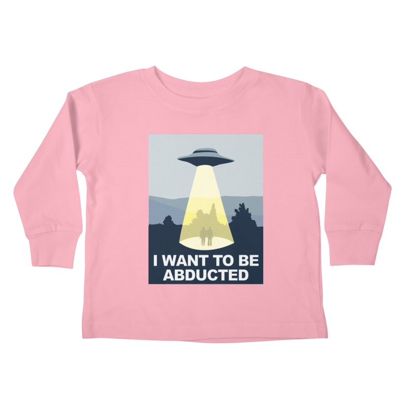 Abducted Kids Toddler Longsleeve T-Shirt by Daletheskater